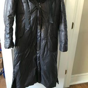 Elie Tahari Jackets & Coats - Maxi Length Elie Tahari Down Coat Black M